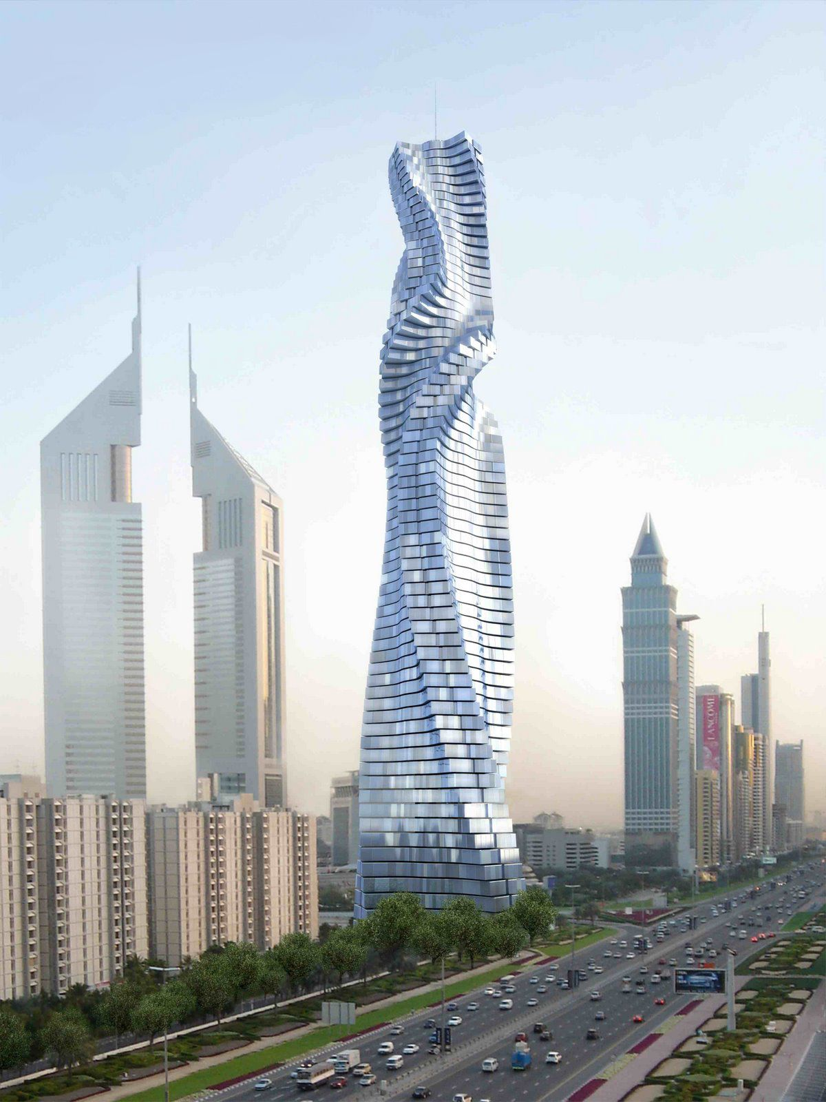 Building Design Part - 41: The Dynamic Tower Offers Infinite Design Possibilities, As Each Floor  Rotates Completely Independently To Create