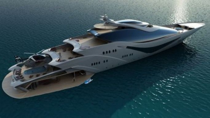 Superyachten concept  Oceanco shows Project Magnitude, its new 90m superyacht concept ...