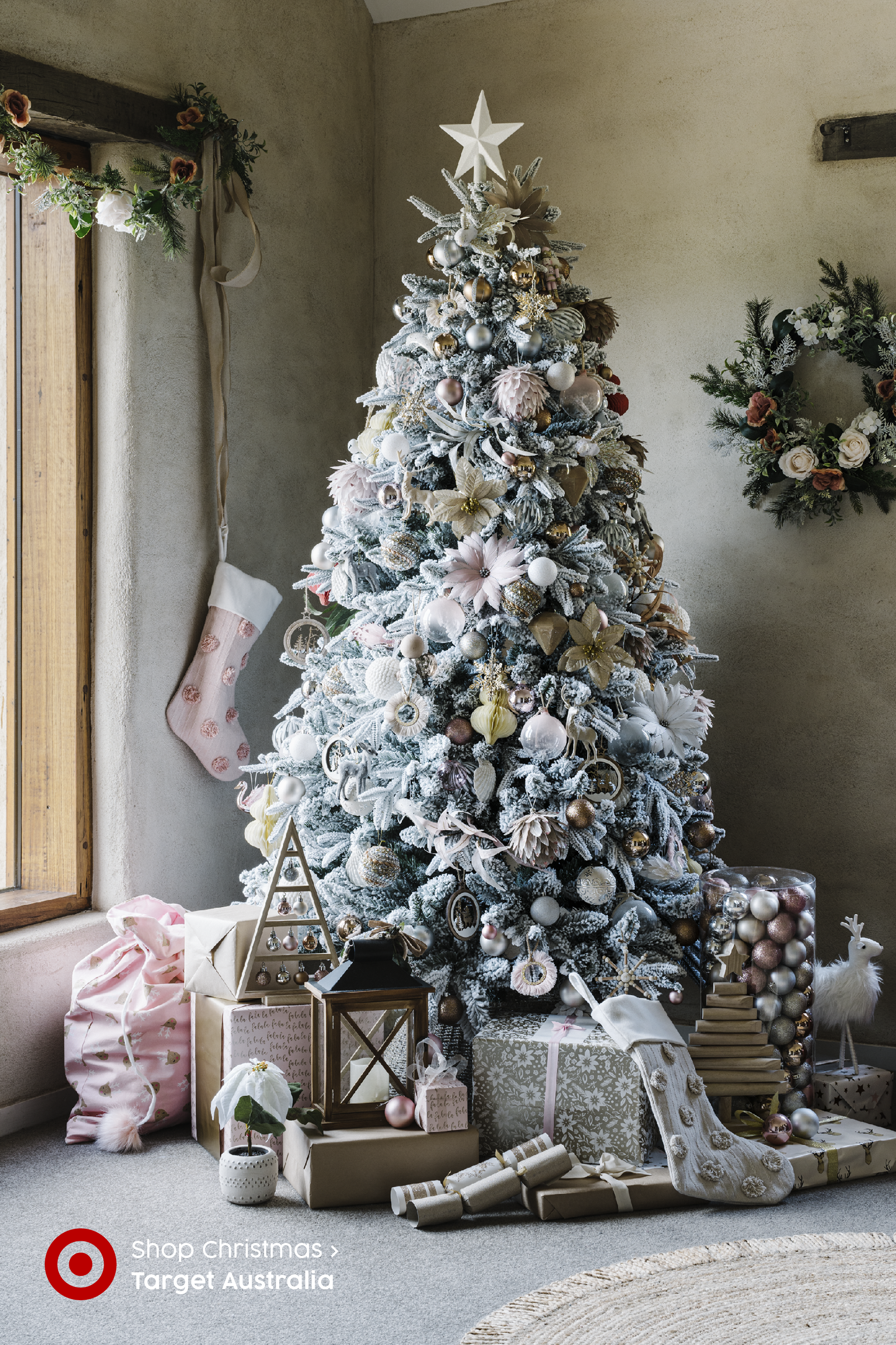 Unearthed Christmas Made Better In 2020 Holiday Decor Christmas Glam Christmas Tree Pink Christmas Decorations