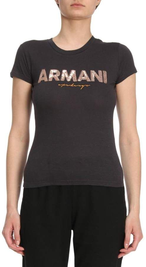 c82545ca T-shirt women armani exchange   Products   Armani women, Shirts ...