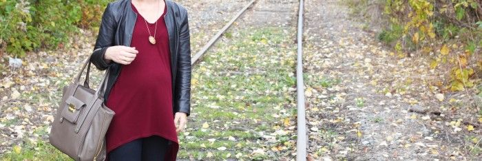 Fall Color Love: Burgundy