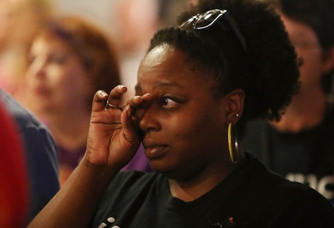 -PulseShooting: A Homegoing for Our (Queer) Dead Homegoings in the black church should not be a heterosexual privilege. Mourners attend a memorial service at the Joy MCC Church in Orlando, Fla., on June 12, 2016, for the victims of the massacre at Pulse nightclub in Orlando, Fla., where, authorities say, Omar Mateen killed 49 people.
