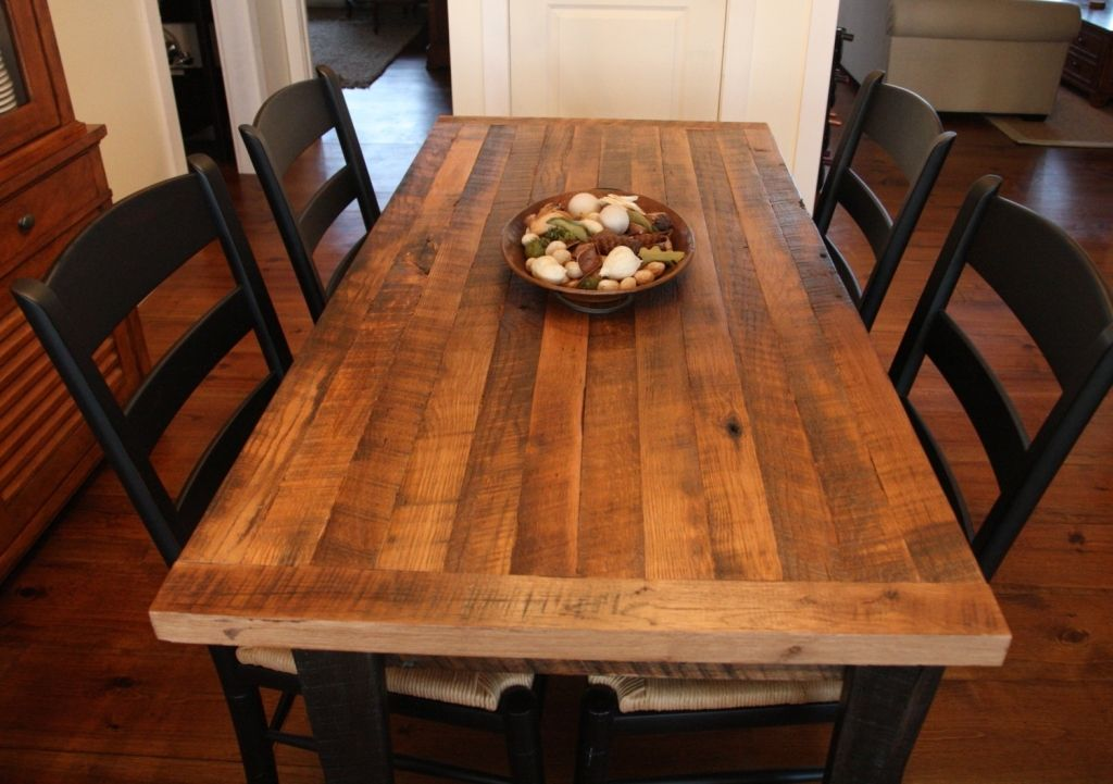 Kitchen Cute Butcher Block Dining Room Table Chairs Also Butcher Block Table Craigslist From A Butcher Block Table Island Can Increase The Beauty Of Your Kitch