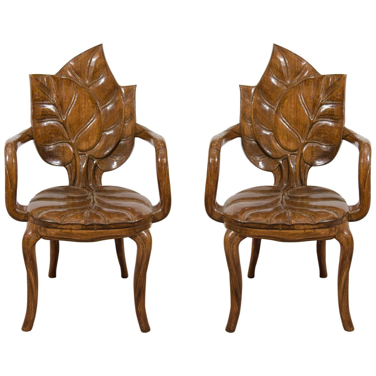Art Deco Nouveau: Art Nouveau Chairs At 1stdibs