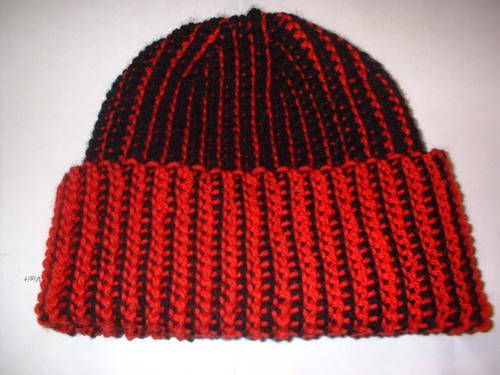 Tunisian Crochet Hat Pattern | Free Easy Crochet Patterns Tunisian ...