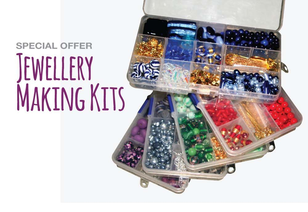 Jewellery Making Kits on special offer for a limited time only. beads.co.uk