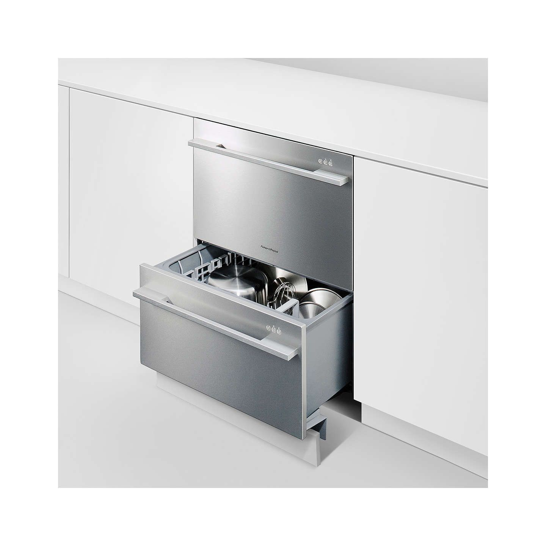 BuyFisher & Paykel DD60DDFHX7 Built-in Double DishDrawer Dishwasher ...