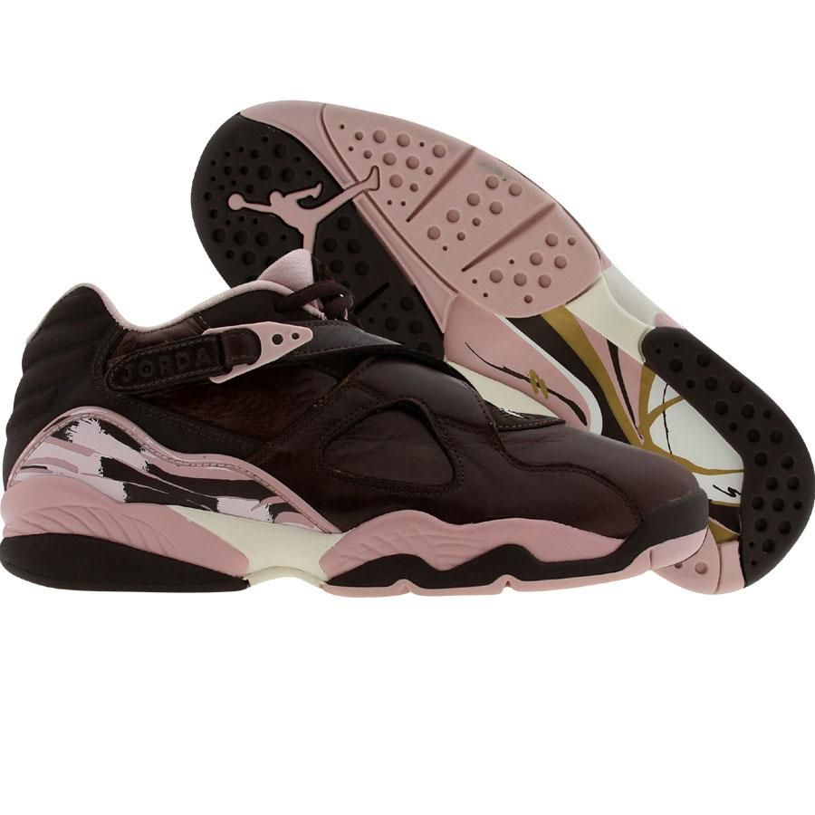 Nike Womens Air Jordan Retro 8 Low (cinder / pink) 317251-261 -