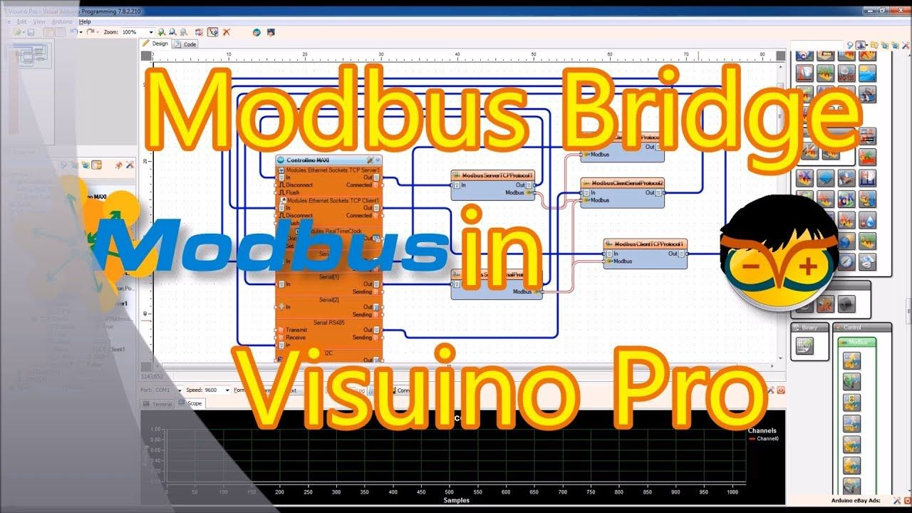 And my 3rd Visuino Pro video tutorial is done