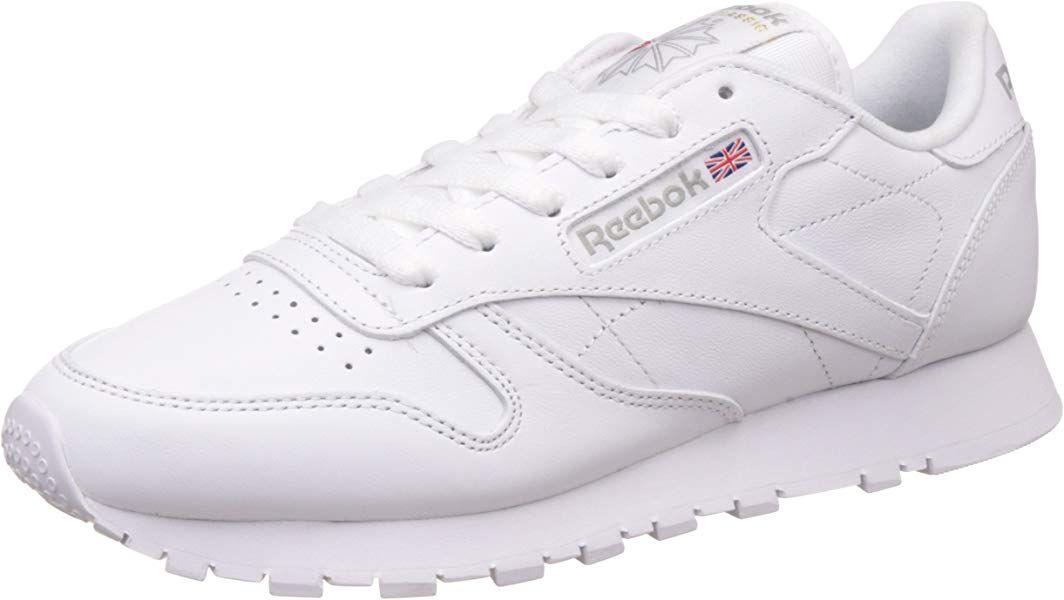 Reebok Classic Damen Sneakers Weiss Int White 38 5 Eu 5 5 Uk 8 Us Amazon De Schuhe Handtaschen Reebok Schuhe Damen Reebok Classic Damen Und Reebok
