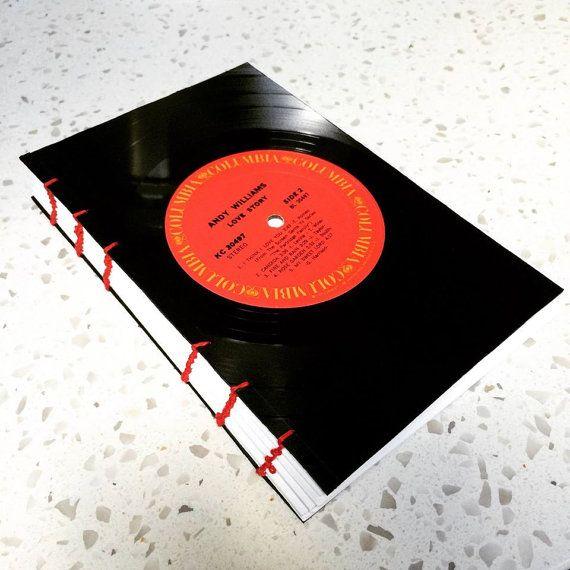 Vinyl Record Sketchbook Vinyl Record Crafts Vinyl Records Record Crafts