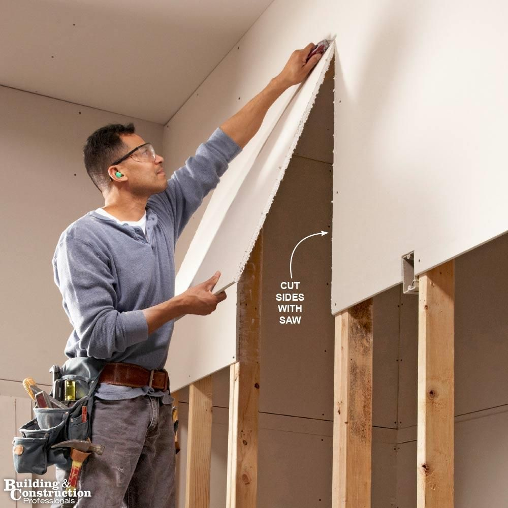 Professionals Share Their Drywall Installation Tips Building And Construction Professionals Drywall Installation Hanging Drywall Diy Home Improvement