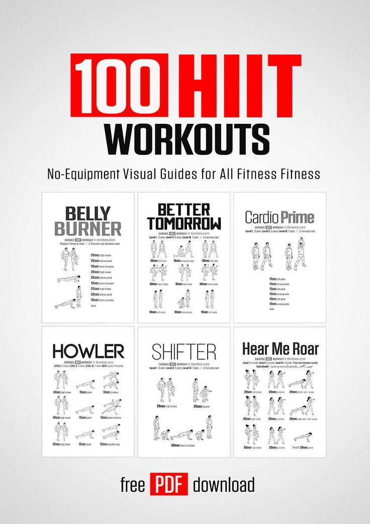 100 HIIT Workouts by DAREBEE #darebee #fitness #workout #hiitworkout #hiit #cardioworkoutathome #car...