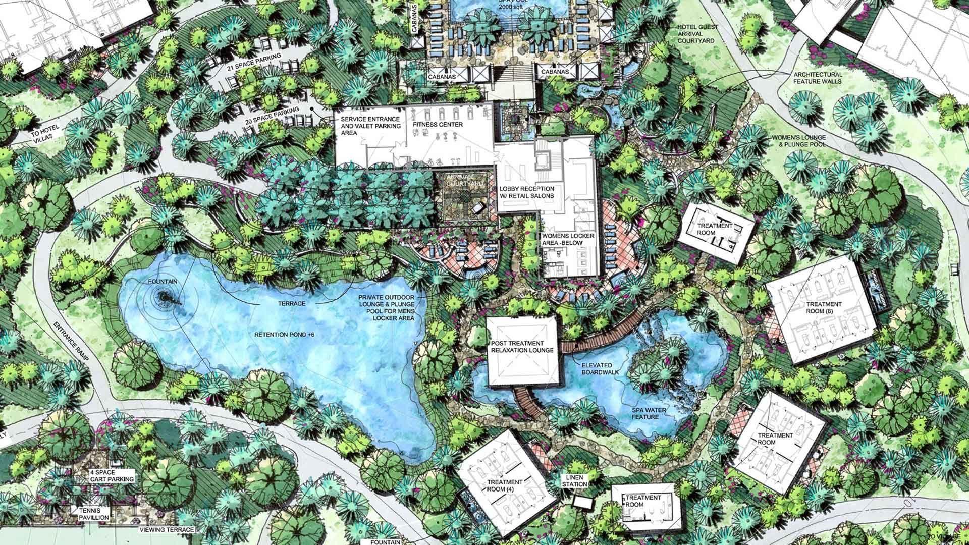 Kết Quả Hình ảnh Cho Spa Resort Master Plan