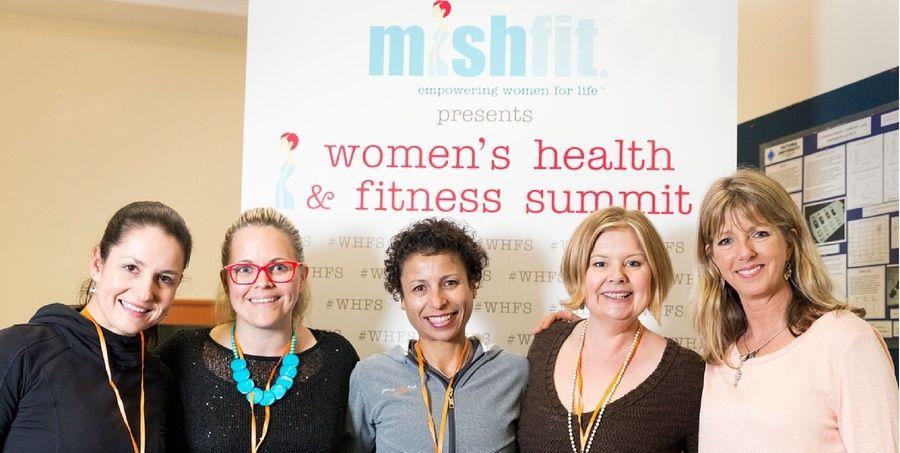 mishfit hosts women's health and fitness summit