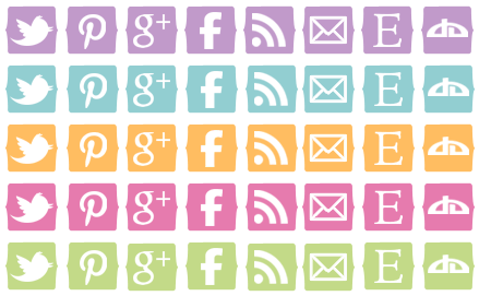 16 More Of The Best Free Social Media Icon Sets Social Media