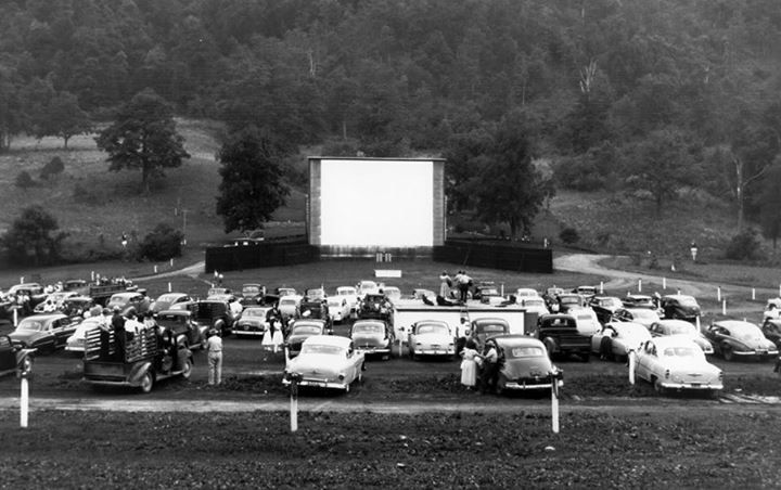 Drive in movies in wv