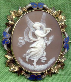 Image detail for -... french shell cameo in 15k gold english frame c 1840 antiquecameos net