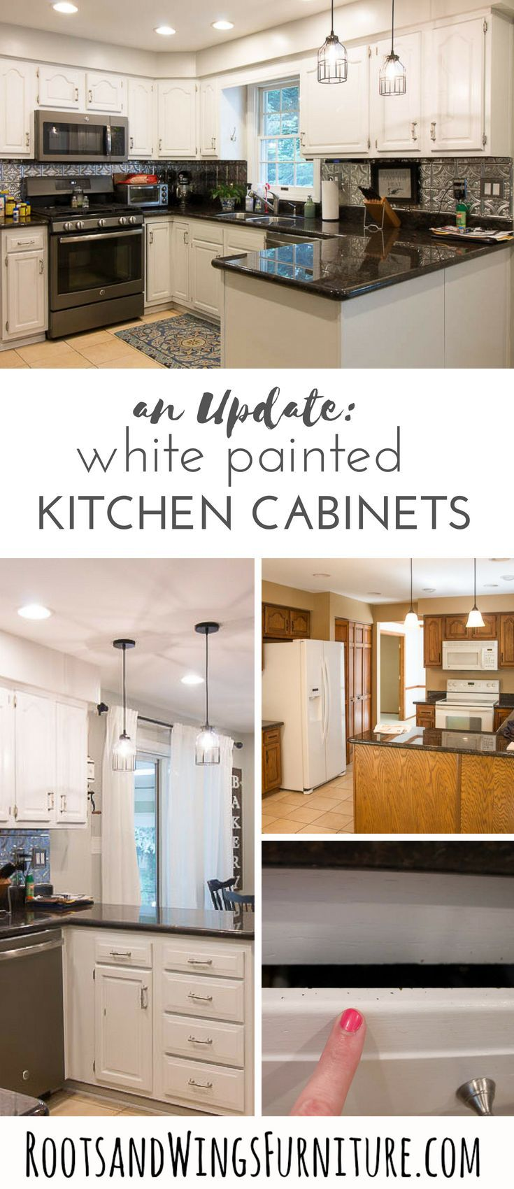 Painted Cabinet Update   Home Ideas   Painting cabinets, DIY ...