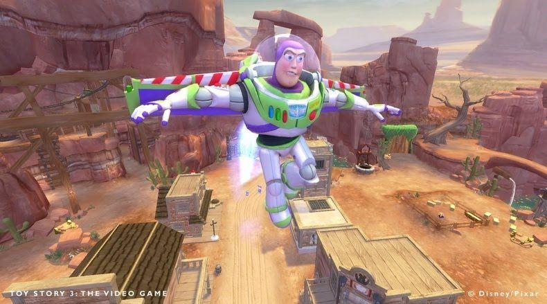 Essa é uma imagem do jogo Toy Story 3, especialmente para o console Xbox 360. O game conta com um ótimo gráfico e é indicado para pessoas de todas as idades. A terceira versão da franquia ainda conta com novos jogabilidades interessantes e fases mais longas com mais aventuras. Detalhes do jogo Toy Story 3 estão no nosso blog.