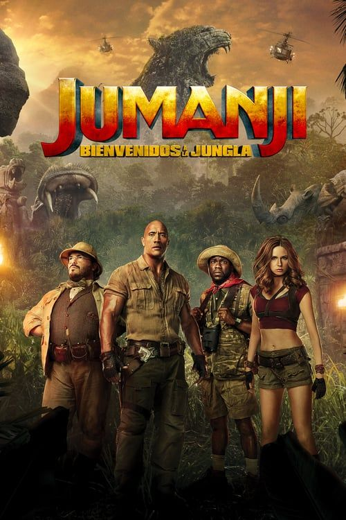 Watch Jumanji Welcome To The Jungle 2017 Full Movie Online Free Welcome To The Jungle Full Movies Free Movies Online