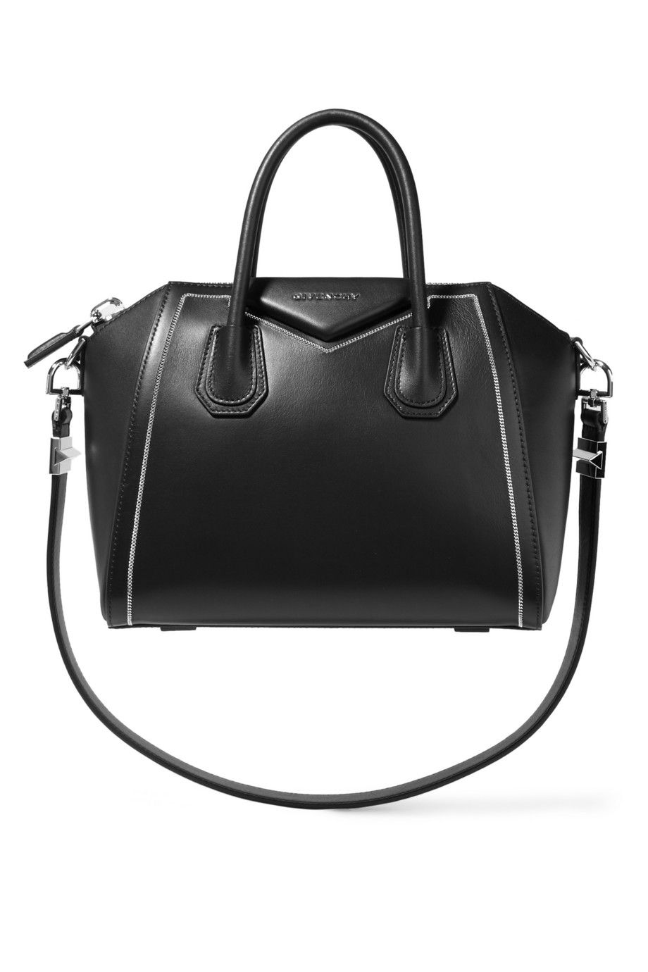 Petit Modèle GivenchySac Noir A Net Antigona En Cuir GUpqSzMVL