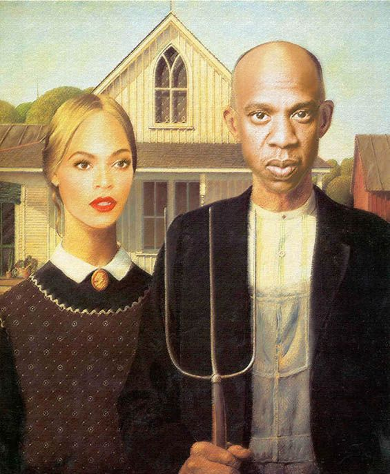 Famous Paintings Improved By Beyonce And Jay Z