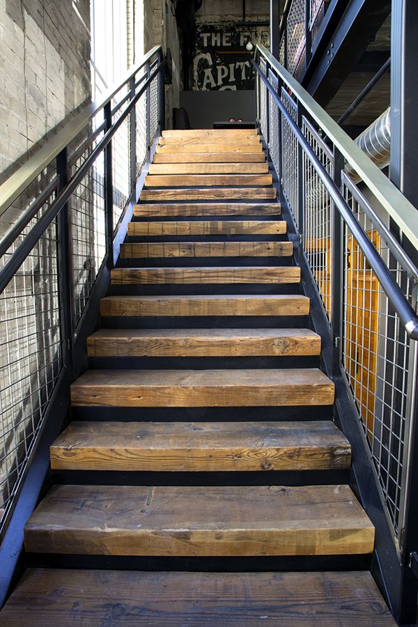 Best Stair Treads Salvaged From Factory Timbers Reclaimed In 400 x 300