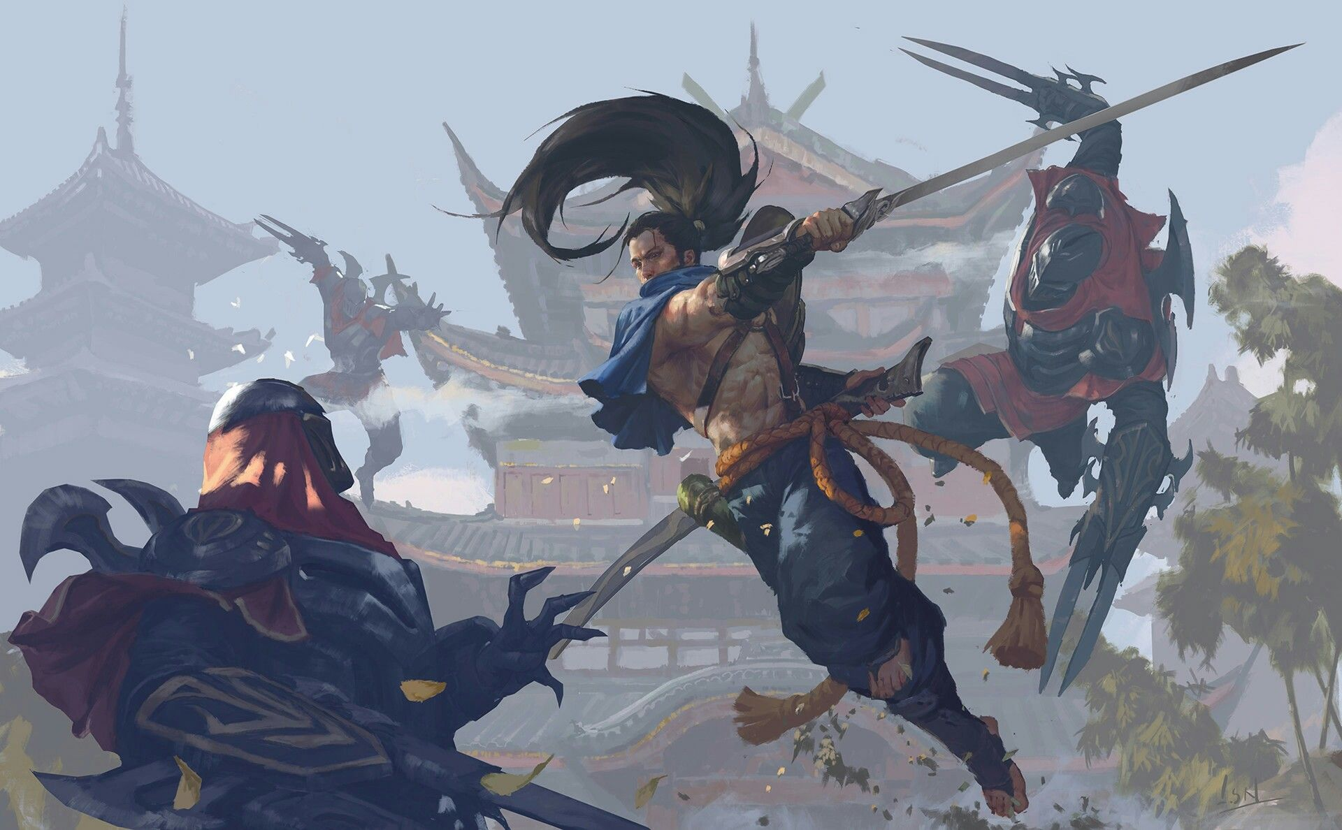 Image By Msh On Zed League Of Legends Yasuo Lol League Of