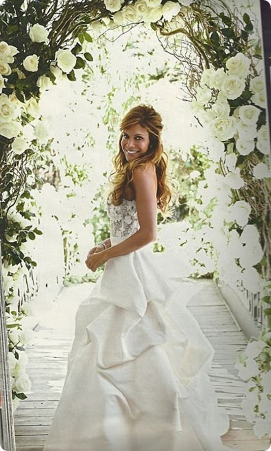 Ayda Fields Wedding Gown