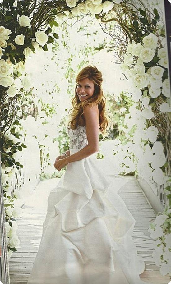 Ayda Fields Wedding Gown