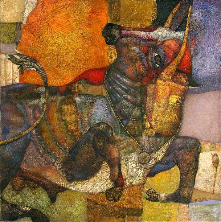 Pintor surrealista ruso y artista gráfico nacido en Leningrado en 1955. Ingresa en la Escuela de Arte Valentin Serov en 1975. Miembro d...