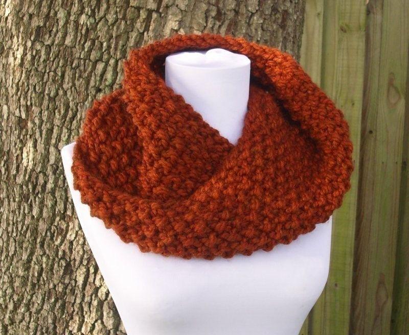 Knitting Pattern Knit Cowl Scarf Knitting Pattern Pdf For The
