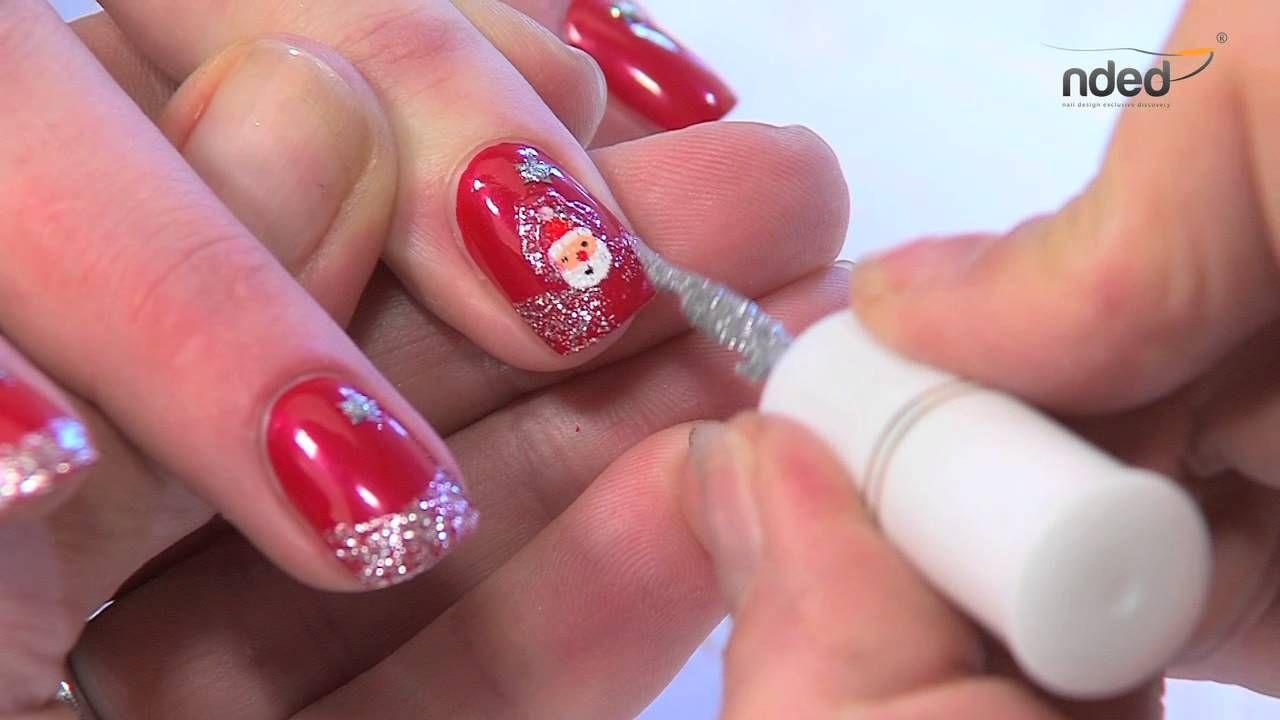 Nailart für Winter & Weihnachten für trendige Fingernägel #nailart ...