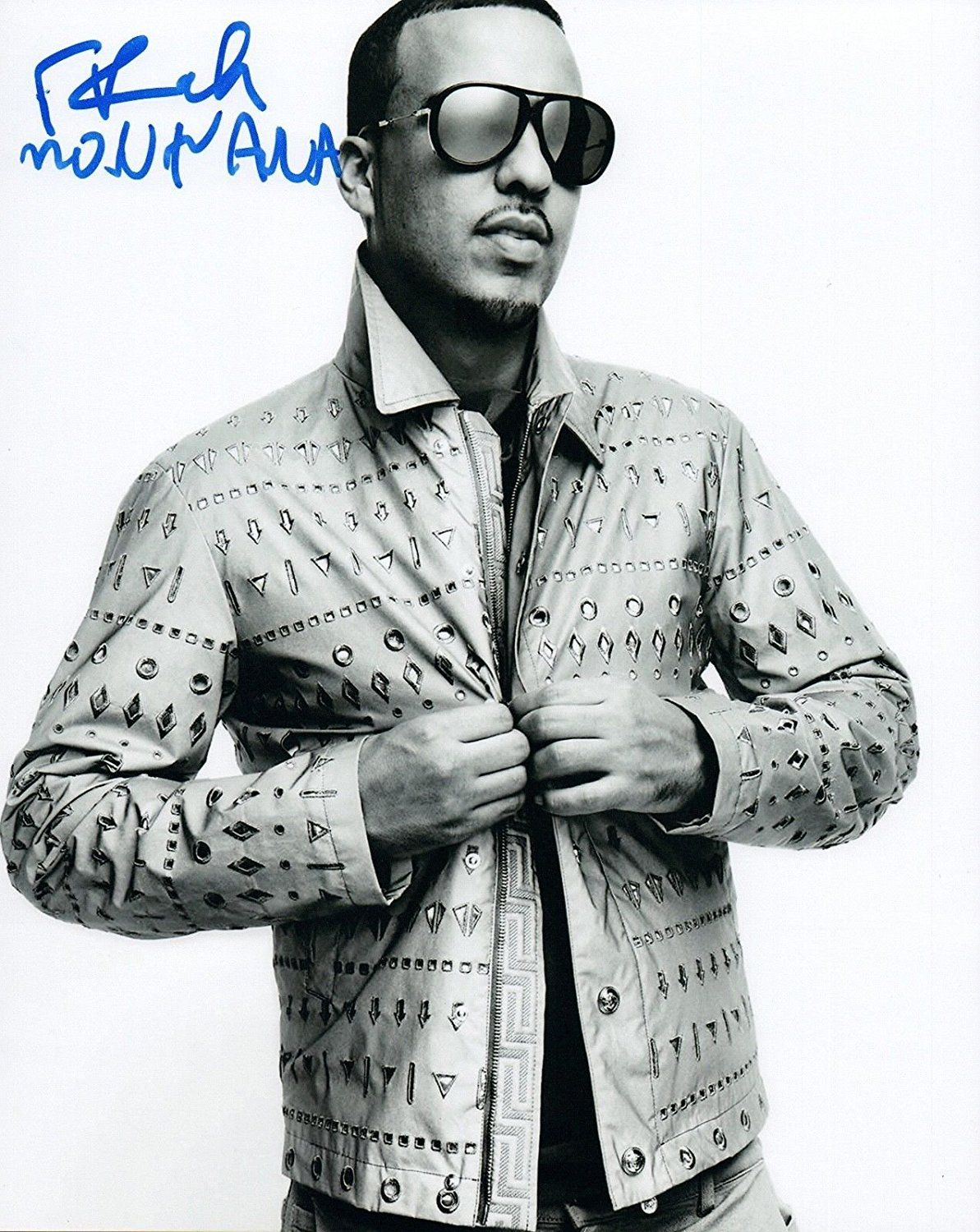 French Montana Signed Autographed 8x10 Photo Hip Hop