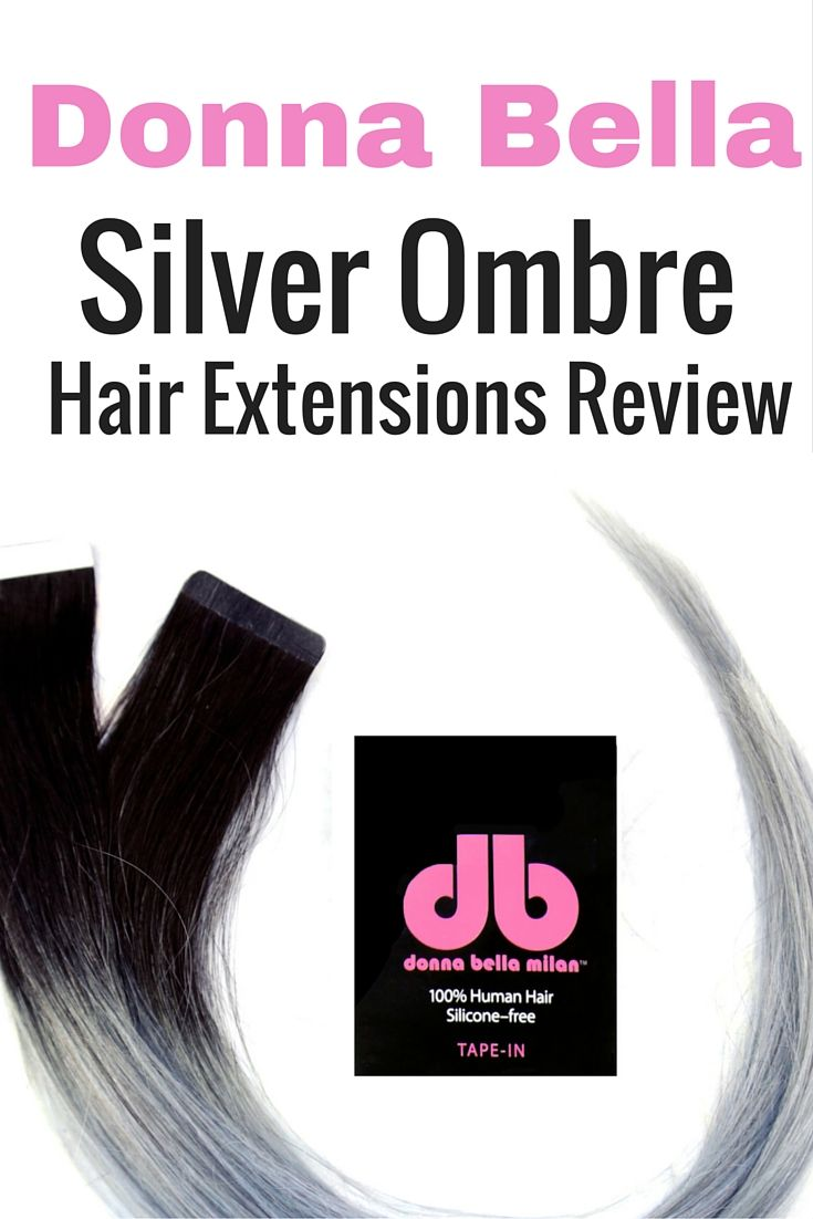 Donna Bella Silver Hair Extensions Hair Extensions Pinterest