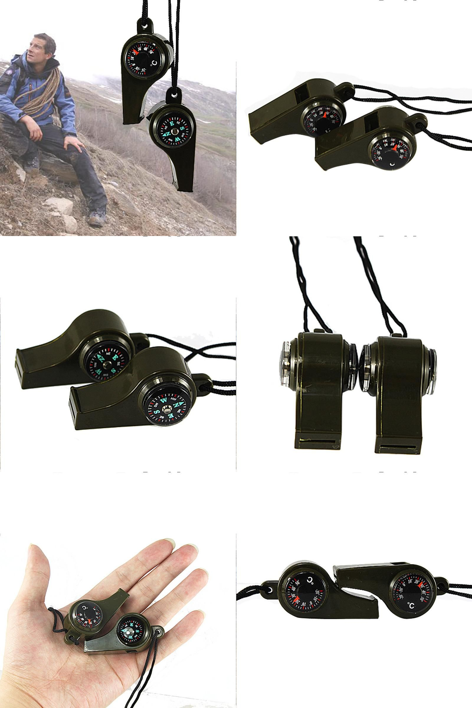 Loud Whistle with Neck Strap for Outdoor Survival Team Sport Training
