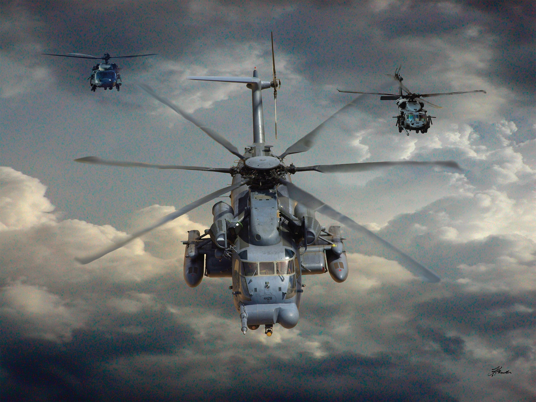 Military Sikorsky CH53 Sea Stallion Wallpaper