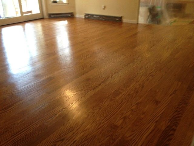 Red Oak With Golden Oak Stain By Minwax Here S A Pic With