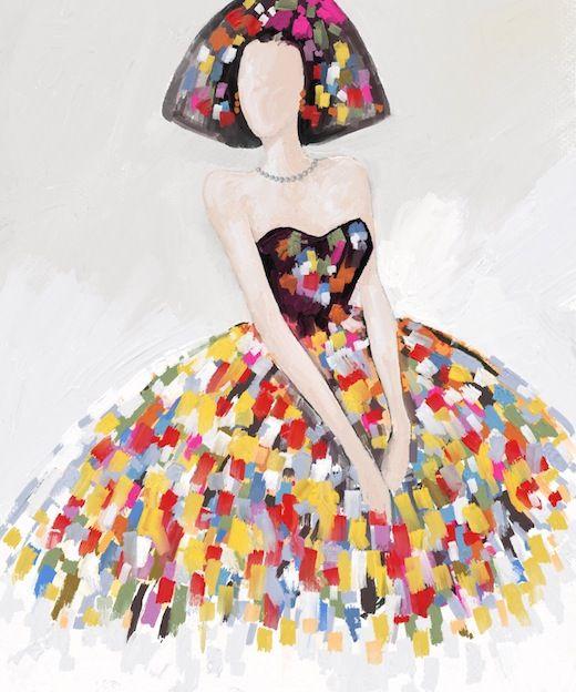 Cuadro menina meninas pinterest cuadros modernos - Cuadro meninas moderno ...