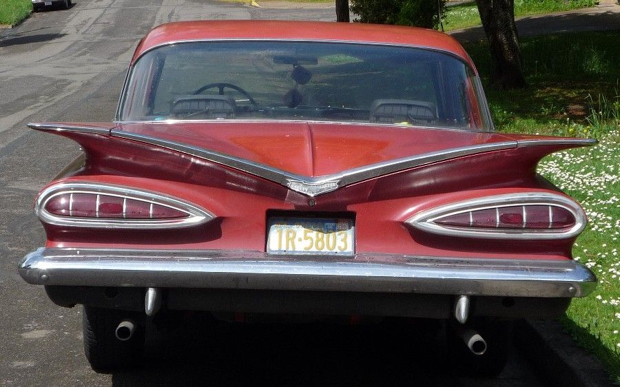 In I Bought A Chevy Biscayne The Tall Tail Fins Had Now