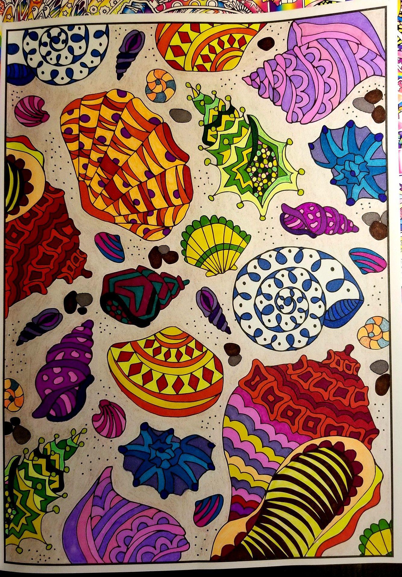 Magical Mermaids Coloring Book Art Mermaid Coloring Book Zen Doodle Patterns