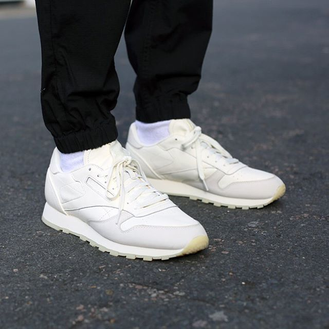 86f0bc0e6cea31 The Reebok Classic Leather  Butter Soft  on the foot - Available at £74.95  in-store and online