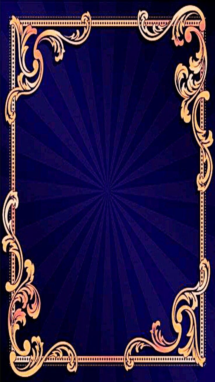 blue gold wallpaper | iphone vertical wallpapers | pinterest
