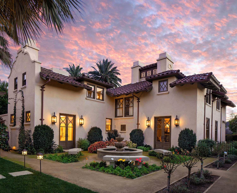 Mediterranean Style Santa Barbara Home Gets Beautifully Restored Mediterranean Style Homes Spanish Revival Home Spanish Style Homes