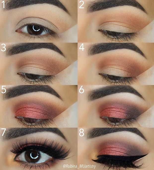 21 Easy Step By Step Makeup Tutorials From Instagram Maquillaje