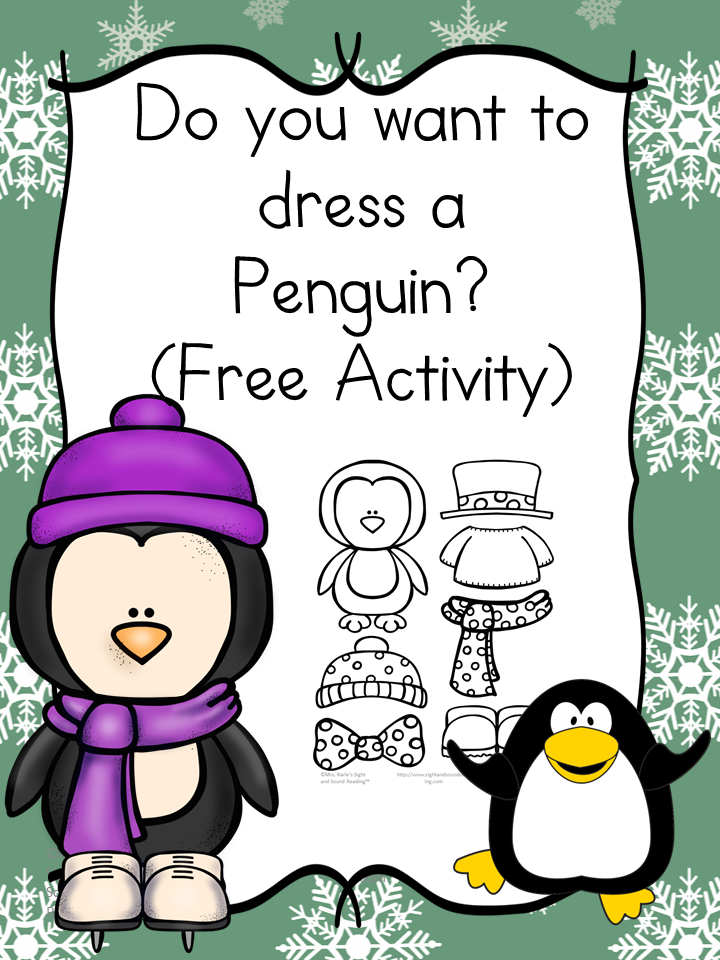 Do you want to dress a penguin? Fun Craft and book idea. #penguincraft