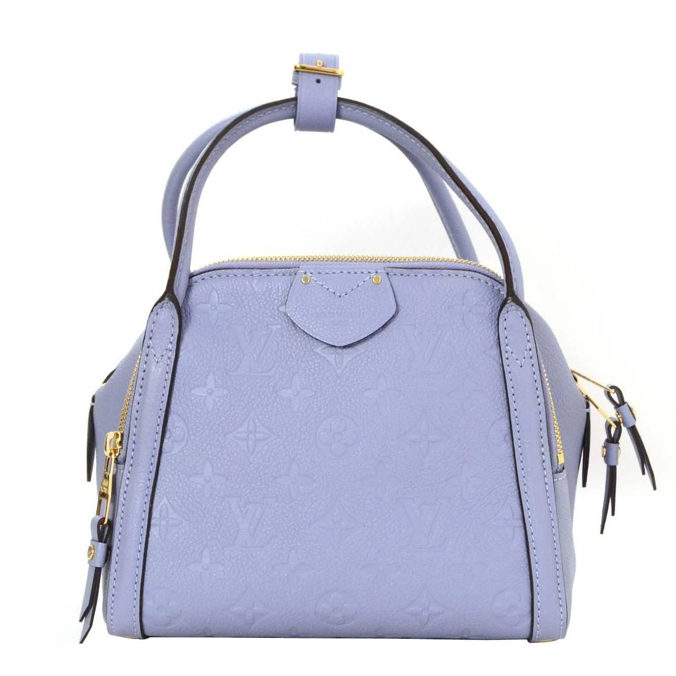 969e67c4186f Louis Vuitton Lilas Periwinkle Empreinte Marais BB Bag