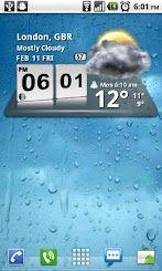 Download Free 3d Digital Weather Clock For Android Phones V 3 6 2 Free Mobile Software 3d Digital Clock Widget With Calenda Digital Weather Weather Information