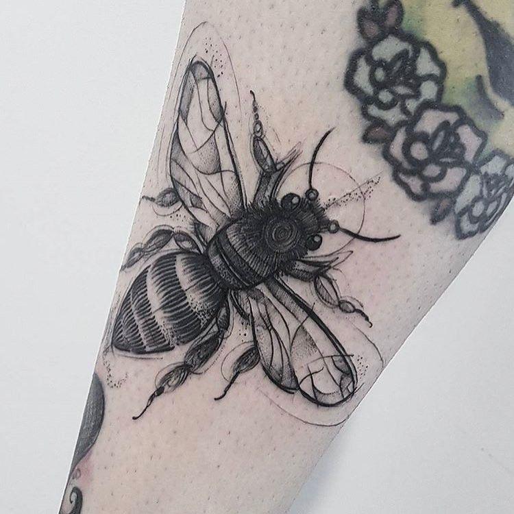 Pin de Mónica Ayala en Tattoo | Pinterest | Tatuajes, Tinta y Abeja